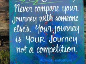 My Journey is mine