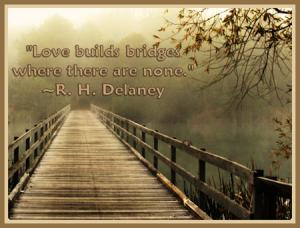 love builds bridges
