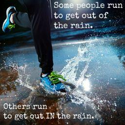 Running n d rain