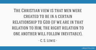 christianview of relationshipwithGod